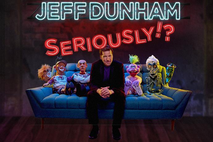 Jeff Dunham naar Ziggo Dome
