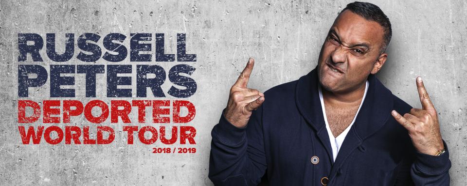 Show Russell Peters verplaatst naar 30 mei
