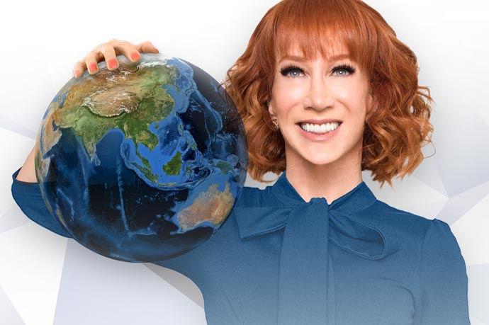 Kathy Griffin in Theater de Meervaart Amsterdam