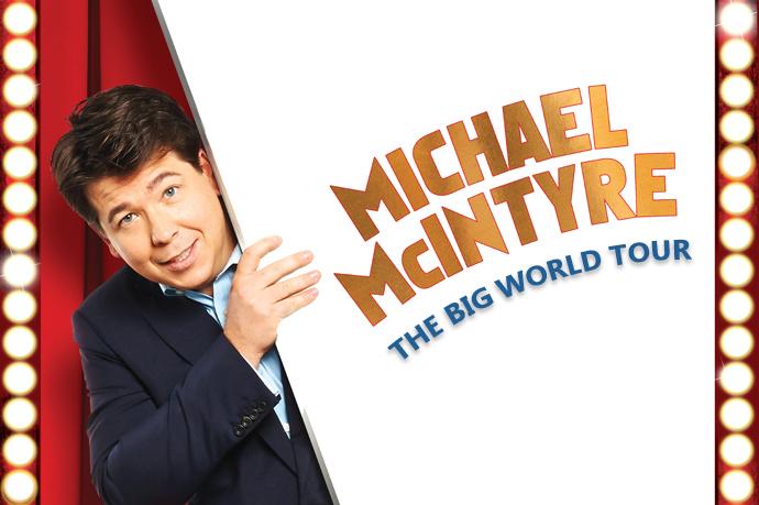 Michael McIntyre op 13 mei naar AFAS Live