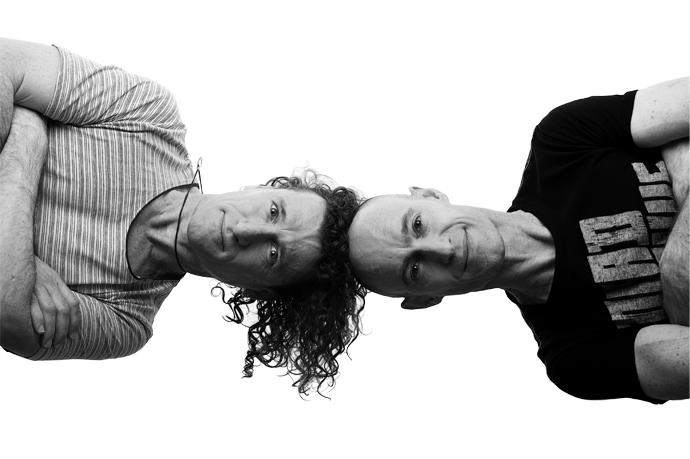 The Umbilical Brothers naar Amsterdam en Heerlen