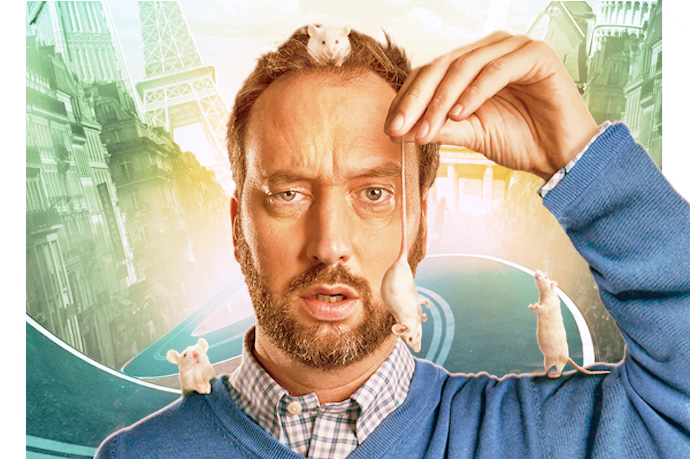 Tom Green op 29 mei in Boom Chicago