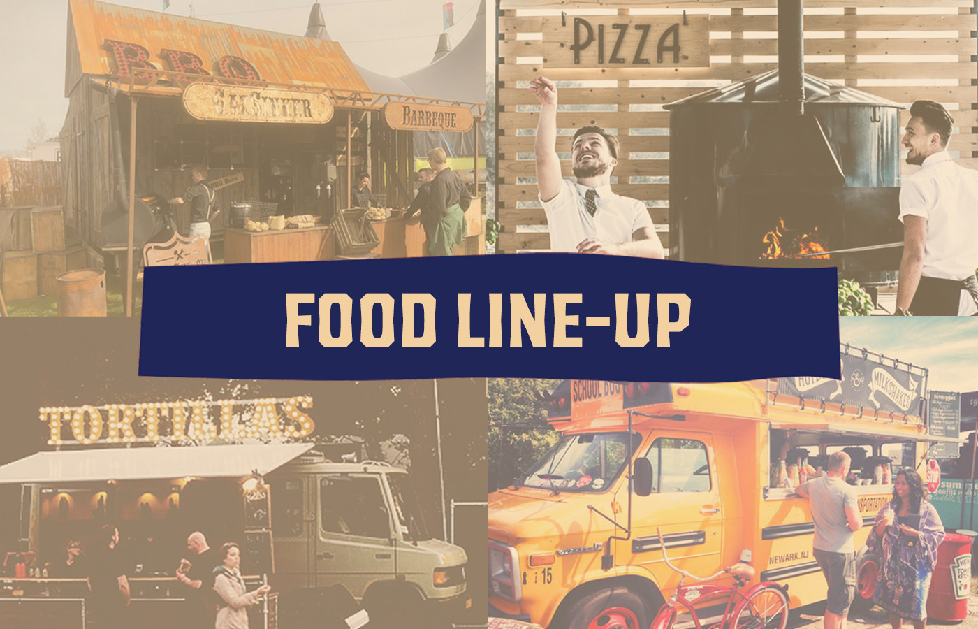 De food line-up van OIABM 2018 is bekend